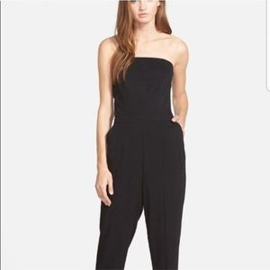 Black Strapless Jumpsuit 1. State